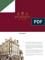 Purdey Brochure