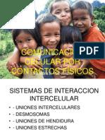 Comunicacion Celular Por Contactos Fisicos Io