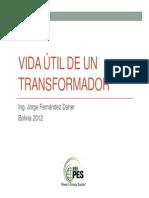 02-Vida útil de un transformador - Bolivia
