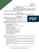 RES TEEU 034 2013 Pronunciamiento