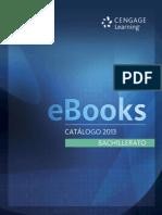 Catálogo eBooks Bachillerato