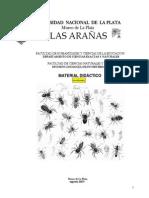 Manual de arañas Universidad de la Plata