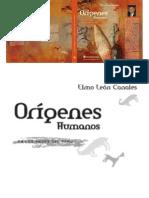 Origenes Humanos en Lo Andes Del Peru-Elmo Leon Canales (2007)