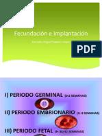 Unidad 1. Fecundación e implantacón