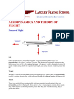 Aerodynamics and Theory of Flight