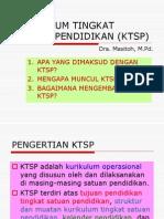Kurikulum Tingkat Satuan Pendidikan (KTSP) SMP-Dra. Masitoh, M.pd.