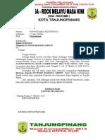 Proposal Wali Kota Cup Minta Tambah 2014 Suryono