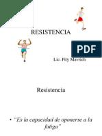 capacidad resistencia