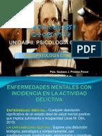 PSICOPATOLOGÍA CRIMINAL