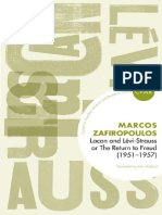 Zafiropoulos Markos Lacan and Levi Strauss or the Return to Freud 1951 1957