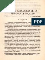 02 Estudio Geologico de La Peninsula de Yucatan