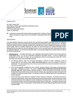 Joint RA RCA ARCH Letter on Version 9 Comp Plan Text, October 18, 2013