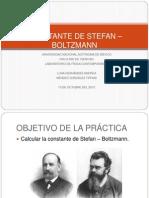 Constante de Stefan - Boltzmann