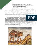 El Comercio Exterior a Travez de La Historia en Mexico
