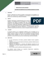 MODIFICACION DIRECTIVA 016-2012 CONSORCIOS
