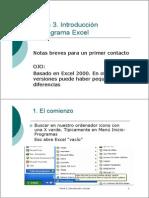 t3 Intro Excel