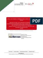 ANÁLISIS FACTORIAL CON COMPONENTES PRINCIPALES PARA INTERPRETACION DE IMÁGENES SATELITALES -LANDSAT