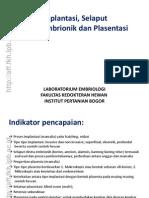 05. Implantasi Selaput Ekstraembrionik Dan Plasentasi Rev2011