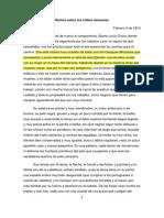 (1813) Larrañaga, Dámaso A. - Noticias sobre los minuanes