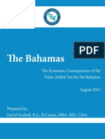 Bahamas Consequences of Vat Report v 7