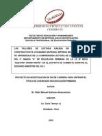 Modelo de Proyecto Primaria