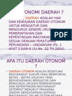 8 Otonomi Daerah
