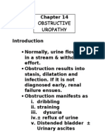 Obstructive Uropathy
