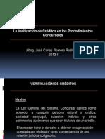 5 Verificación de Créditos