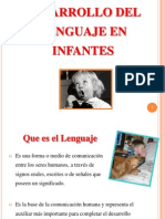 9. Dsrrllo Lenguaje INFANTES