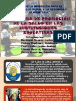 Educacion Saludable - Tecnologia Educativa