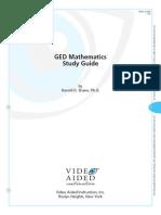 Ged Math Guide
