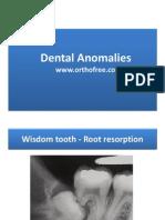 4-Dental Anomaly