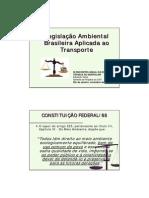 Legislacao Ambiental Brasileira Aplicada Ao Transporte