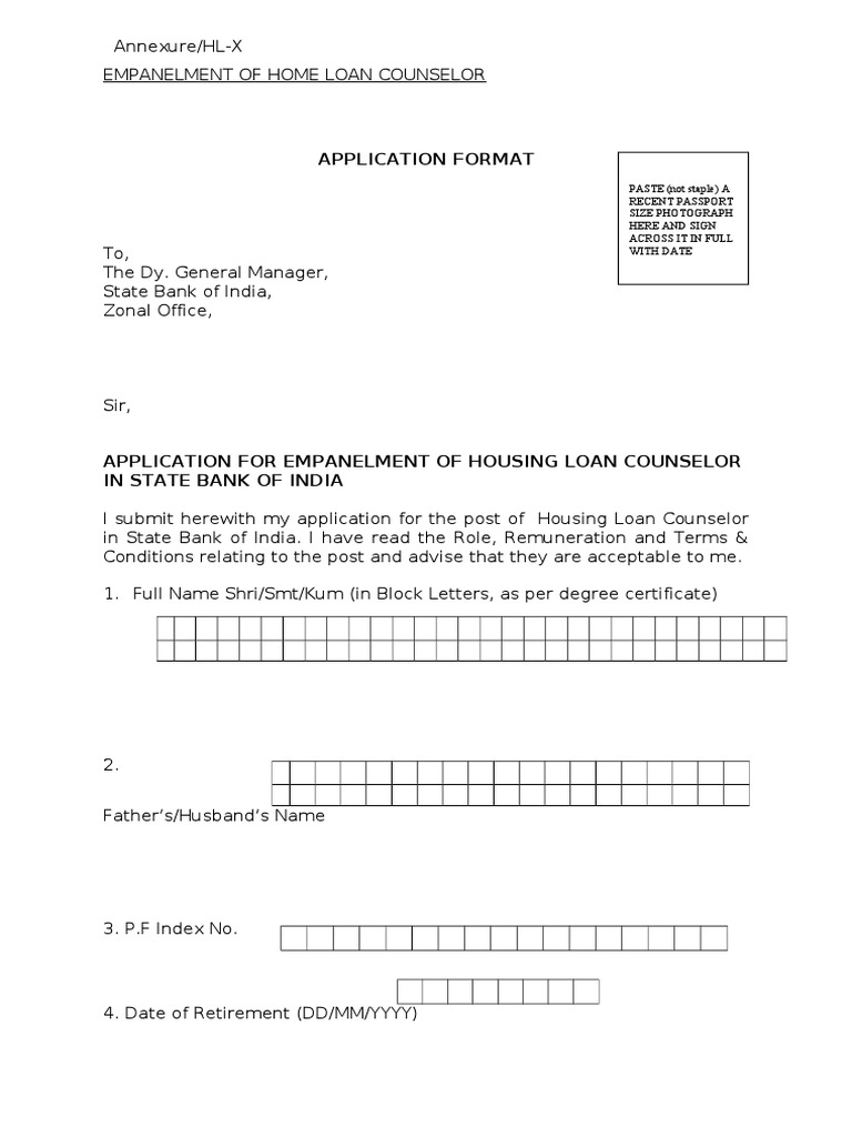 Empanelment letter format image collections letter format example request letter format for empanelment customs officer cover letter spiritdancerdesigns Image collections