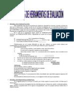 Modelos de Herramientas de Evaluacic3b3n