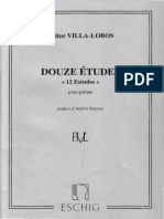 Heitor Villa-Lobos - 12 Etudes Pour Guitare