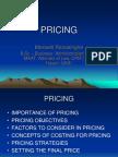 pricing straategies