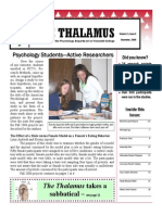The Thalamus Dec. 2006 Vol. 11(2)