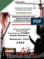 Informe Analisis Estrutural II-placa
