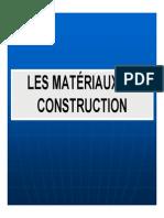 Les Matériaux de Construction (Choix et Dimensionnement)