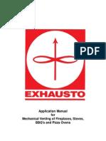 exhausto rs chimney fan application manual chimney fireplace rh scribd com