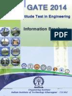Gate2014 Brochure