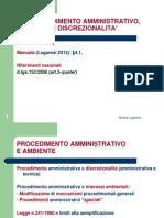 Procedimento Amministrativo Ambientale