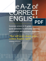 A. Burt -- The a-Z of Correct English