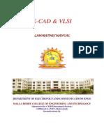 ECAD & VLSI LAB (90) IV -I