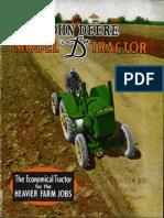 John Deere Model D Brochure