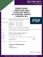 33 Oxford Street BS