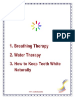 Breathing Therapy & Water Therapy