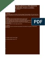 Standart Operasional Prosedur Senam Kegel