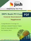 Ibps Bank Po Exam 2013_ga_supplement
